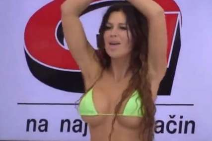 Grudi samo što joj ne ispadnu: Stanija zamiješala kukovima u tangama, muškarci u transu (VIDEO, FOTO)