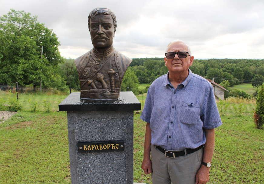 Počast voždu i ustanicima: Otkrivena bista Karađorđu u Mašićima pod Kozarom