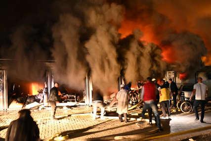 Stravični prizori požara u kovid bolnici u Tetovu: Broj žrtava bi mogao da bude veći od 30 (FOTO, VIDEO)