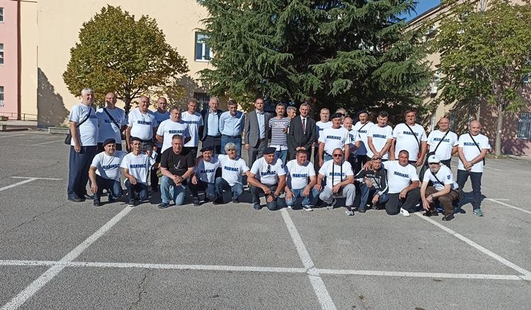 U Trebinju se okupili bivši marinci: Sjećanje na dane provedene u JNA (FOTO)