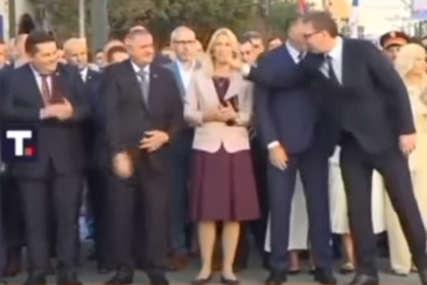 """""""Nisam primjetio da mi je pružio ruku"""" Vučić uputio izvinjenje Nenadu Stevandiću (VIDEO)"""