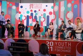 """Youth Connected For Change"" pokazao snagu mladih: Predstavljeni najznačajniji rezultati aktivnosti BHRI programa (FOTO)"