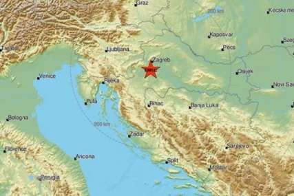 """Novi zemljotres u Hrvatskoj """"Glasan zvuk, nakon njega se treslo desetak sekundi"""""""