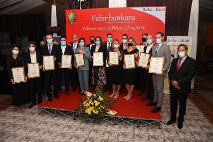 """Bankarska priznanja """"Zlatni BAM"""" uručena u Sarajevu"""