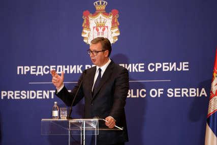 """""""Nismo daleko od rješenje"""" Vučić se nadao da će u Briselu na sastanku delegacija Beograda i Prištine biti postignut dogovor"""