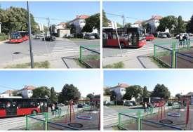 """""""RUKAMA JE RAZGRNUO VRATA"""" Tinejdžer sa drugaricom pokušavao da izbavi putnike iz autobusa koji je uletio u park"""