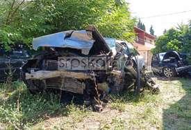 Čudo da je iko ostao živ: Fotografije govore o silini sudara kod Bileće u kojem su poginula dva mladića (FOTO)
