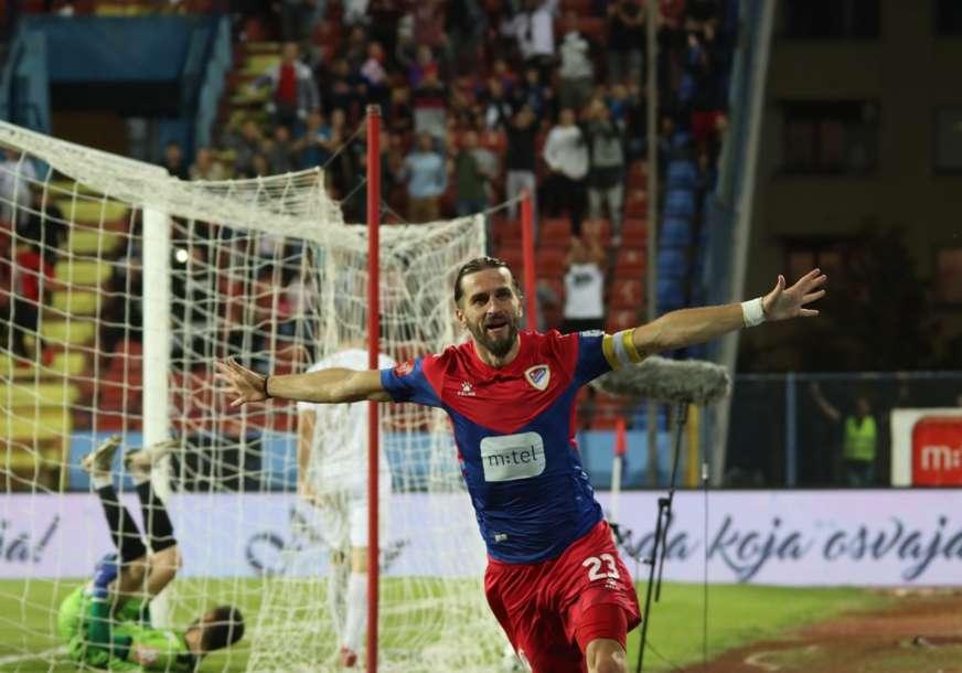 GOOOOLLLL Borac vodi u derbiju, strijelac kapiten Vranješ