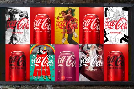 """Coca-Cola predstavlja novu globalnu platformu REAL MAGIC i otkriva """"Zagrljaj"""", novu perspektivu legendarnog logotipa (FOTO)"""