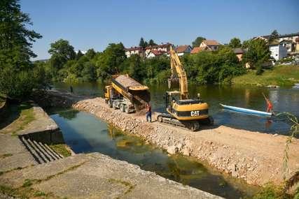 Inicijativa datira još od 2013. godine: Počela izgradnja prvog dajak pristaništa u Banjaluci (FOTO)