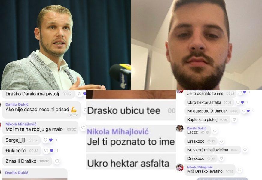 Stanivukovića ubacili u viber grupu, ZAPRIJETILI MU UBISTVOM, pa ga izbacili: Novi detalji prepiske zbog koje su uhapšeni Đukić i Mihajlović (FOTO)