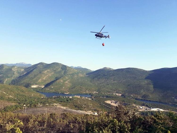 KIŠA POMOGLA VATROGASCIMA Ugašen veliki šumski požar kod Trebinja