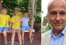 Branio se ćutanjem: Otac ubica troje djece prebačen u pritvor