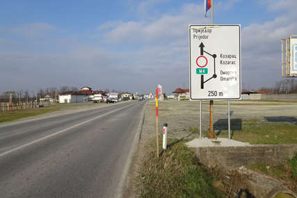 Zamjena asfalta na najopterećenijim dionicama: Rekonstrukcija magistralnog puta Prijedor - Banjaluka u zastoju