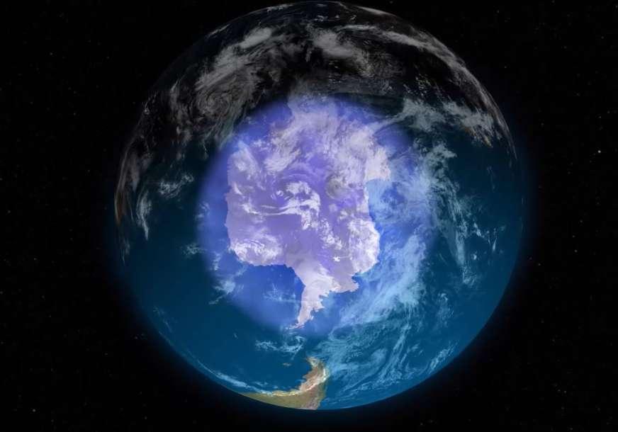 Naučnici poslali ozbiljno upozorenje: Ozonska rupa nad Antarktikom veća od uobičajene