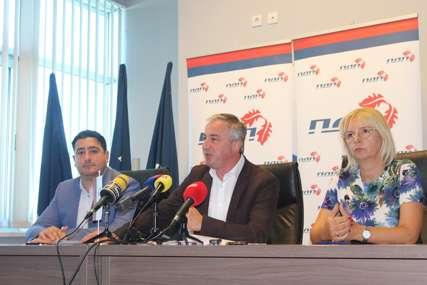 Borenović nakon sjednice Predsjedništva PDP: Opozicija do kraja godine treba da dogovori zajedničke kandidate za izbore