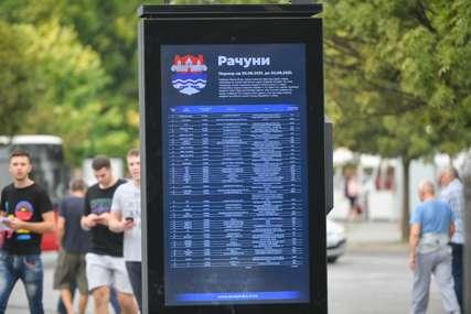 Računi i dalje u centru grada: Do sada objavljen 31 izvještaj o svakoj potrošenoj marki