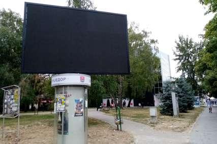 Brinu o prihodima: Veći broj reklamnih površina u Prijedoru