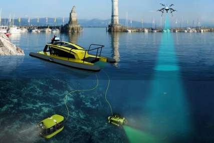 PRVI U SVIJETU U Dubrovniku testiran sistem robota za skupljanje otpada u moru (VIDEO)