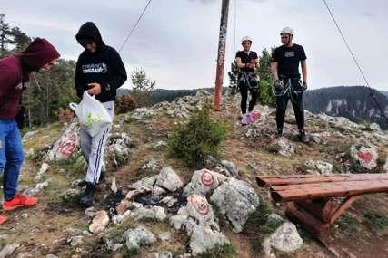 Akcija na području Sokoca: Planinari i sportisti čistili opštinu