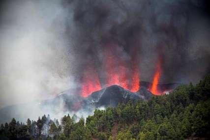Velika količina pepela usred erupcije vulkana: Komercijalni letovi do španskog ostrva La Palma prekinuti
