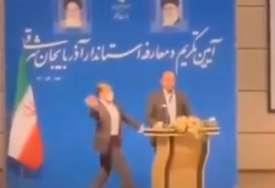 INCIDENT NA CEREMONIJI Muškarac ošamario iranskog zvaničnika tokom inauguracije guvernera (VIDEO)
