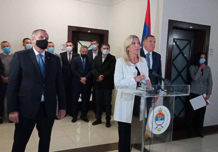 """Cvijanovićeva poručuje """"Vrata za razgovore sa Hrvatima i Bošnjacima širom otvorena"""""""