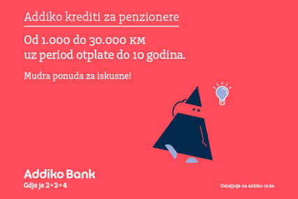 Najbolje ponude čuvamo za one najiskusnije: Addiko kredit za penzionere od 1.000 do 30.000 KM bez troškova obrade