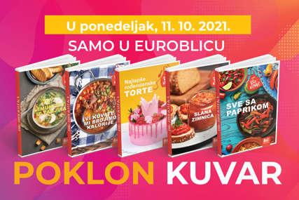 "NE PROPUSTITE Uz ""EuroBlic"" dobijate kuvar na dar"