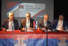Šarović nakon sjednice Glavnog odbora SDS: Nećemo slijediti SNSD u njihovim inicijativama (FOTO)