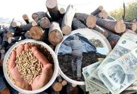 Prazna stovarišta drva, uglja i peleta: Svaka nova isporuka diže cijenu