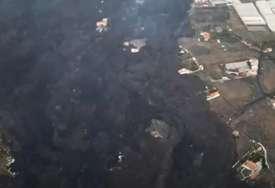 Prelijepo ostrvo nestaje u lavi i pepelu: Snimci dronom pokazuju svu KATASTROFU ERUPCIJE na La Palmi (VIDEO)