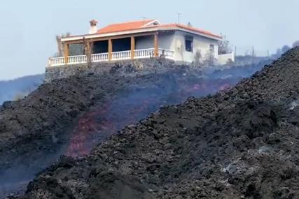 ZASTRAŠUJUĆI SNIMCI Rijeke lave gutaju sve više kuća na Kanarima (VIDEO)