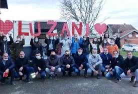 Dobrovoljno rade da selo izgrade: Uzorni akcijaši iz Lužana kod Gradiške (FOTO)