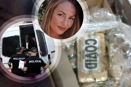 Lijepa Marina i Budo Banana OSTAJU IZA REŠETAKA: Sami organizovali šverc 1.400 tone kokaina, ona radila logistiku