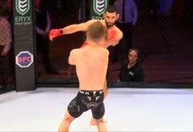 Nesportski se ponio, pa dobio šta je zaslužio: Ruski MMA borac nokautirao protivnika u petoj sekundi (VIDEO)
