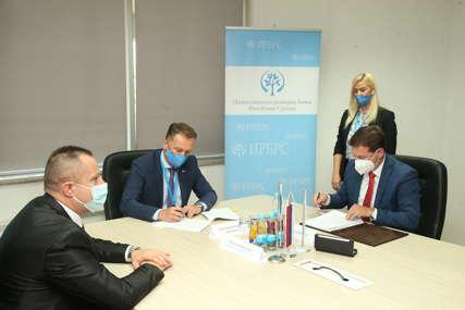 Nova banka i IRB RS potpisali Ugovor o supsidijarnom finansiranju