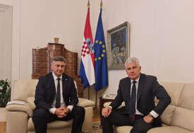 Čović i Plenković složni: Izborni zakon BiH mora razriješiti situaciju nametanja političkih predstavnika