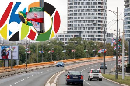 Srbija slavi jubilej Pokreta nesvrstanih: Beograd okićen zastavama brojnih zemalja učesnica (FOTO)