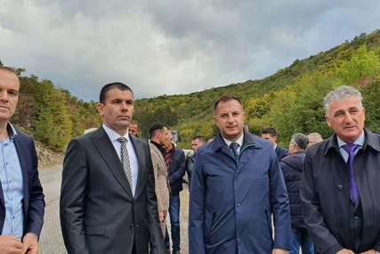 """""""Sve procedure su završene, novac obezbjeđen"""" Počela rehabilitacija puta Nevesinje-Mostar"""