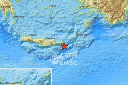 ZEMLJOTRES U GRČKOJ Potres kod Krita jačine čak 6,3 stepena, ljudi istrčali u strahu na ulice