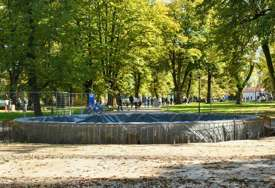 """DAŠAK STARE BANJALUKE Iz Gradske uprave najavili da će uskoro biti završena gradnja fontane u parku """"Mladen Stojanović"""""""