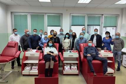 """""""DOBROBIT JE VIŠESTRUKA"""" Radnici gradske uprave u akciji dobrovoljnog davanja krvi"""