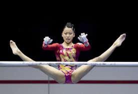 Teška povreda japanske gimnastičarke