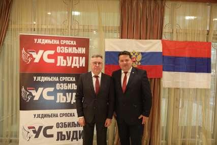MNOGO USPJEHA U RADU Ambasador Kalabuhov čestitao Stevandiću rođendan