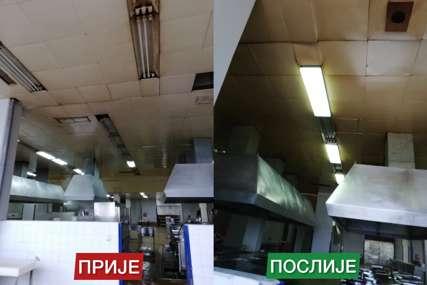 Gradski inspektori ponovo u kontroli: Utvrdili da je počela obnova kuhinje u UKC Srpske (FOTO)
