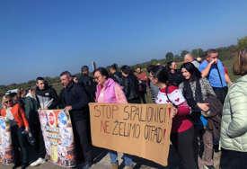 Organizovali mirne proteste: Mještani Lopara u borbi za zdravlje i živote PORUČILI STOP SPALIONICI