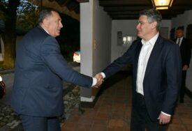 Sastali se Dodik i Milanović: Nastavak aktivnosti s ciljem funkcionisanja BiH