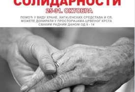 """""""Nedjelja solidaranosti"""" Crveni krst Trebinje posljednje sedmice oktobra pokrenuo humanitarnu akciju"""