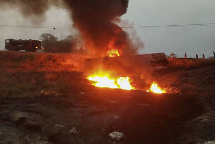 TRAGEDIJA U NIGERIJI U eksploziji i požaru u nelegalnoj rafineriji nafte poginulo najmanje 25 ljudi